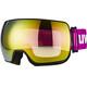UVEX Compact FM Goggles pink/sort